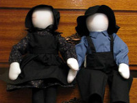 Mennonite Dolls image