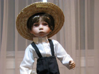 Mennonite Porcelain Doll (Boy) image