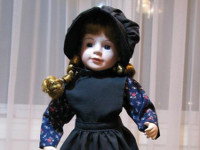 Mennonite Porcelain Doll (Girl) image